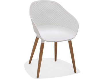 Gartenstuhl - Norman - Weiß