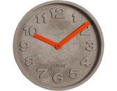 Concrete Time - Wanduhr - Orange