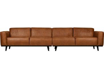 Sofa - Statement 4-Sitzer - XL Braun