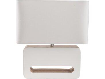 Wood - Tischleuchte - Weiß