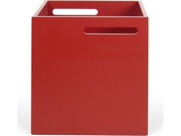 Aufbewahrungsbox - Berlin - Rot