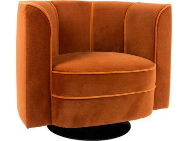 Lounger - Flower - Orange