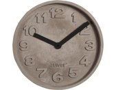 Concrete Time - Wanduhr - Schwarz