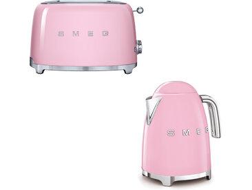 Smeg - Set Wasserkocher und Toaster - Cadillac pink