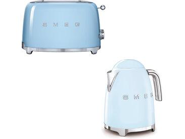 Smeg - Set Wasserkocher und Toaster - Pastellblau