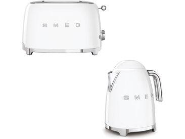 Smeg - Set Wasserkocher und Toaster - Weiß