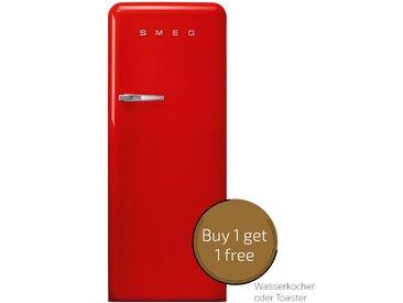 Smeg - FAB28RRD3 - Standkühlschrank - Rot