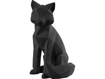 Origami - Fuchs - Groß - Schwarz
