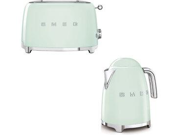 Smeg - Set Wasserkocher und Toaster - Pastellgrün