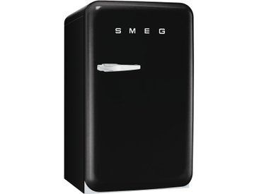 Smeg FAB10RNE - Standkühlschrank - Schwarz