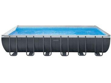 Intex UltraXTR Frame Pool-Set 975x488x132 cm Dunkelgrau