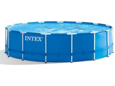 Intex Metall Frame Pool-Set Ø457x122 cm Blau