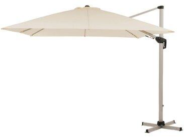 Derby Ravenna AX-Plus Ampelschirm High-Protection 300x300cm Silber/Natur