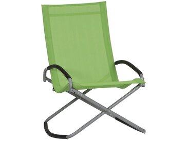 Siena Garden Brava Campingsessel Stahl/Ranotex®-Faser 2x1 Silber/Limette