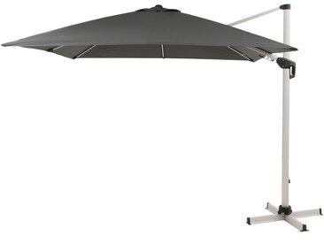 Derby Ravenna AX-Plus Ampelschirm High-Protection 300x300cm Silber/Anthrazit