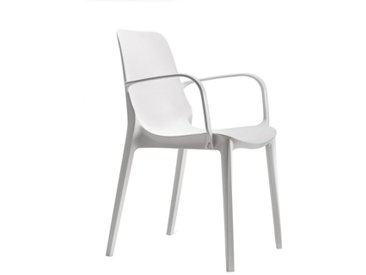 Scab Design Ginevra Stapelsessel Kunststoff Weiß