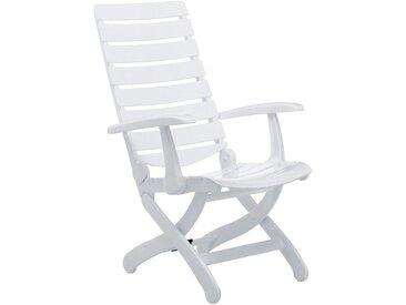 Kettler Tiffany Klappsessel Kunststoff Weiß