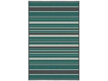 Korhani Nelson Outdoorteppich 200x265 cm Grün|Mehrfarbig