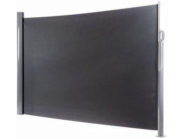 OUTLIV. Seitenmarkise 450x160cm Aluminium/Polyester Dunkelgrau