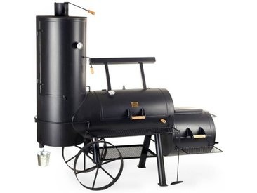 "Joe's BBQ Smoker 24"" Chuckwagon Catering Schwarz"