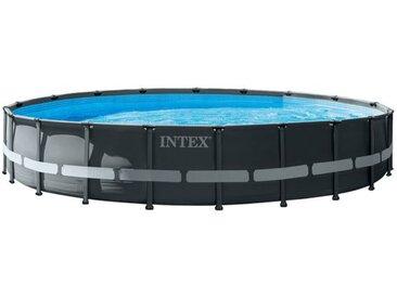 Intex Ultra XTR Frame-Pool Set Ø610x122 cm Dunkelgrau