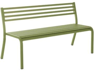 emu Segno 3-Sitzerbank 168cm Stahl Grün