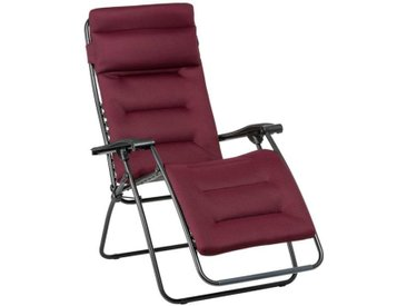 Lafuma RSX Clip AC Relaxliege Stahl/AirComfort® Rot