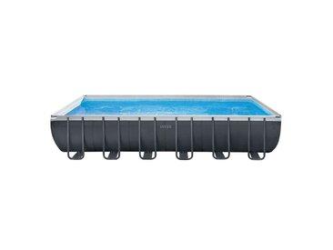 Intex Ultra XTR Frame Pool-Set 732x366x132cm Dunkelgrau