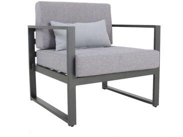 MWH Framino Loungesessel Aluminium/Polyester