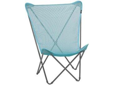 Lafuma Maxi Pop Up Campingstuhl Stahl/Batyline®Iso Blau