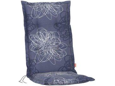 Siena Garden Xora Klappsesselauflage 120x48x8cm Baumwolle Blau