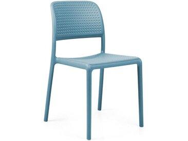 Nardi Bora Bistrot Stapelstuhl Kunststoff Blau