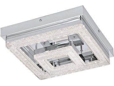 EGLO FRADELO LED Kristall Deckenleuchte 240x240, 1-flg., chrom, klar