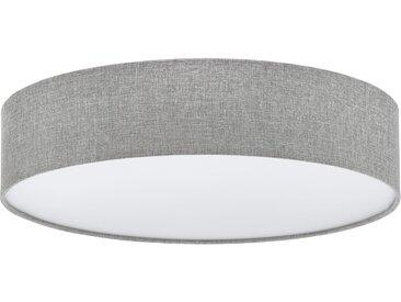 EGLO PASTERI Deckenleuchte Leinen grau, weiss 570mm 3xE27