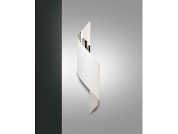 LED Wandleuchte weiß Fabas Luce Fanes 500mm 720lm