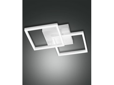 LED Deckenlampe weiß Fabas Luce Bard 3510lm 450mm dimmbar