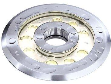 Deko Light Wave II WW Unterwasserleuchte LED silber IP68 1346lm 3000K >80 Ra 25° Modern