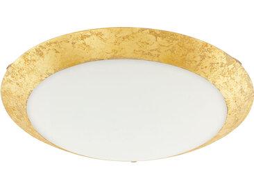 EGLO MONTENOVO LED Deckenleuchte weiss, gold 395mm