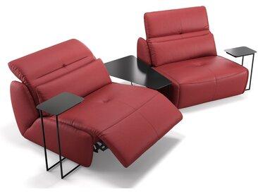 Leder Couch MODICA mit Sitzverstellung Kinosofa Heimkino