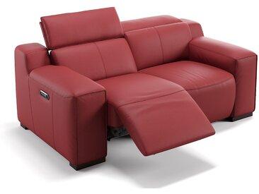 2-Sitzer Sofa LORETO Designer Ledersofa