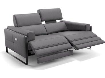 Italienisches Ledersofa MILO 2-Sitzer Couch
