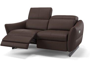 Italienische Ledercouch 2-Sitzer Sofa MODENA