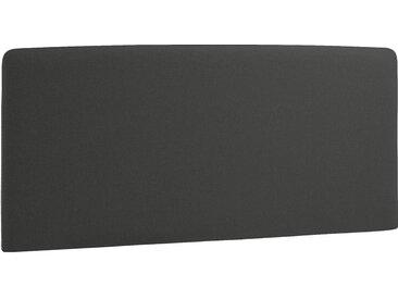 Norrwood Kopfteil Feda 160x200 cm Webstoff Anthrazit