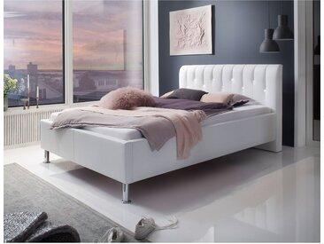 meise.möbel Polsterbett Rapido 120x200 cm Kunstleder Weiß