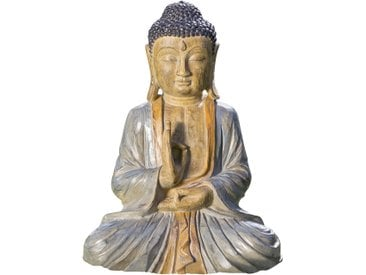 Dekofigur Buddha Beluga