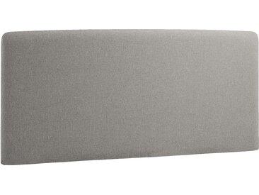 Norrwood Kopfteil Feda 160x200 cm Webstoff Grau