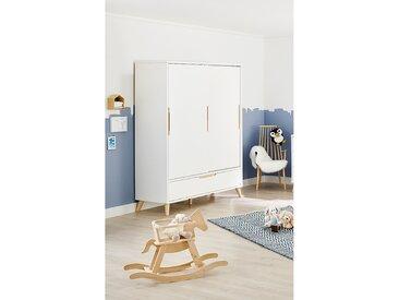 Pinolino Kleiderschrank Move Weiß 150x190x55 cm (BxHxT) 2-türig MDF