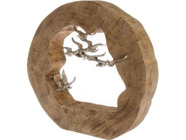 Dekofigur Birds in Log