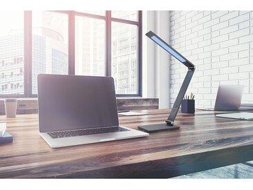 Fischer & Honsel LED-Schreibtischleuchte Geri I Modern Anthrazit Eisen Dimmbar 1-flammig mit Touch-Schalter 12x38x36 cm (BxHxT)
