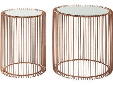 Beistelltisch Wire I (2-er Set)